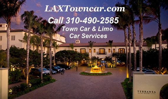 Rent Car Services to from Terranea Resort